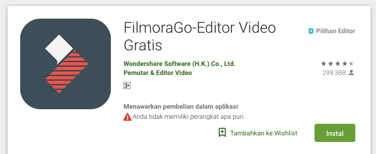 Aplikasi Video Editor Smartphone